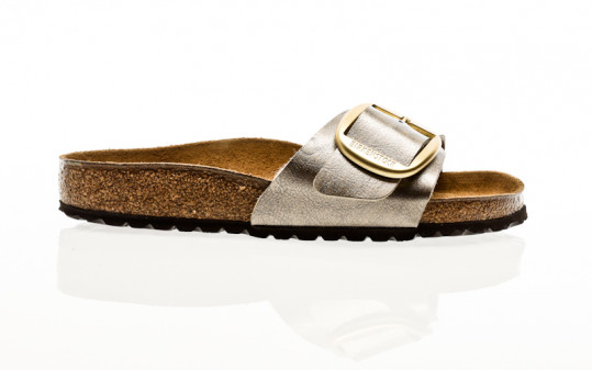 Birkenstock Madrid Big Buckle BF graceful taupe