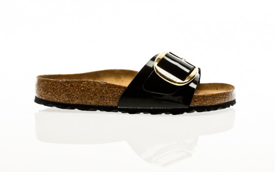 Birkenstock Madrid Big Buckle BF patent black