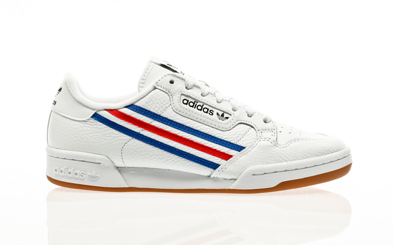 adidas Originals Continental 80 footwear white-team royal blue-vivid red