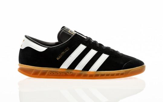 adidas Originals Hamburg core black-footwear white-gum