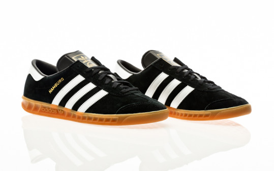 adidas Originals Hamburg core black-footwear white-gum