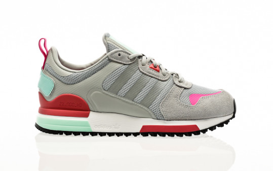 adidas Originals ZX 700 HD W grey two-silver metallic-hazy rose
