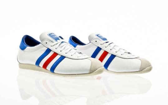 adidas Originals Cadet footwear white-collegiate royal-lush red