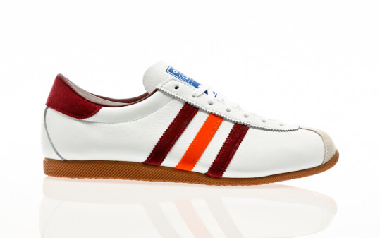 adidas Originals Cadet footwear white-collegiate burgundy-orange