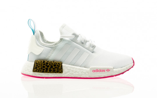 adidas Originals NMD_R1 J footwear white-footwear white-screaming pink