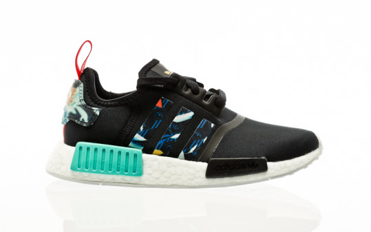 adidas Originals NMD_R1 W core black-supplier colour-acid mint
