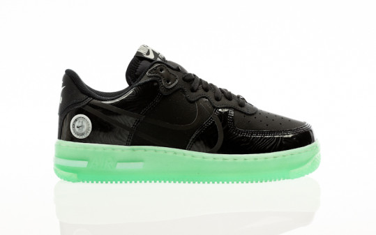 Nike Air Force 1 React Lv8 black-black-barely green