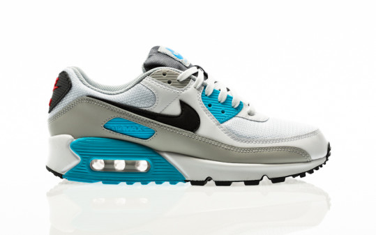 Nike Air Max 90 white-iron grey-chlorine blue