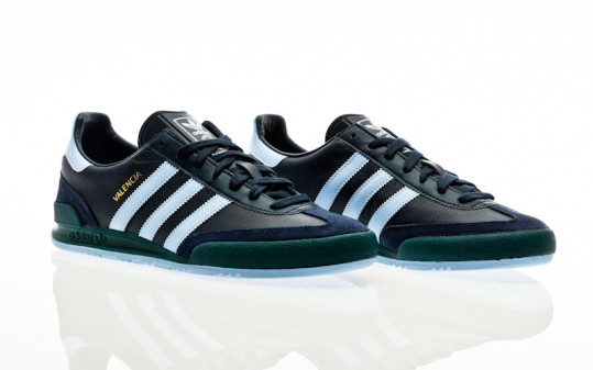 adidas Originals Valencia collegiate navy-halo blue-mystery green