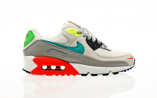 Nike Air Max 90 pearl grey-sport turq-summit white-black