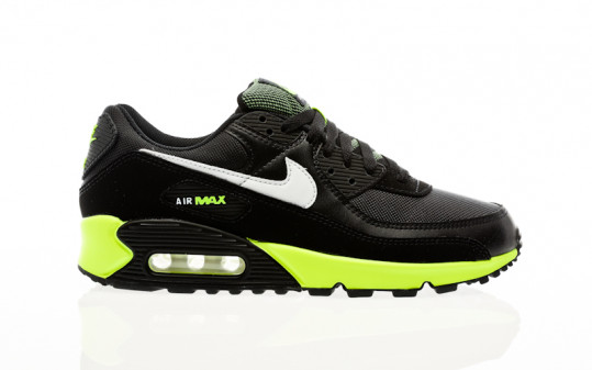 Nike Air Max 90 black-white-hot lime