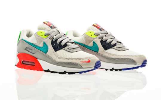 Nike W Air Max 90 SE pearl grey-sport turq-summit white-black