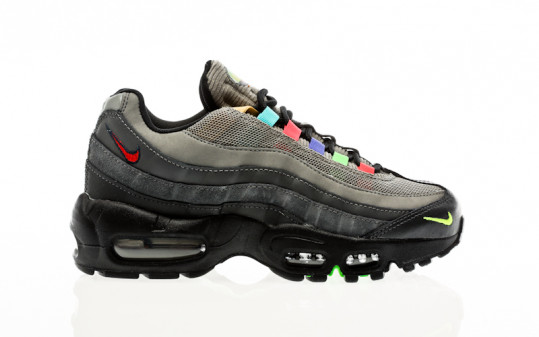 Nike W Air Max 95 SE light charcoal-university red-black