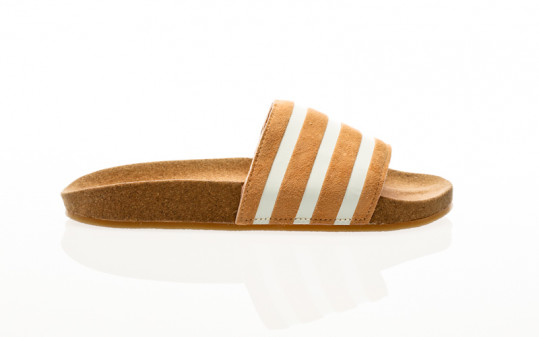 adidas Originals Adilette Womens acid orange-core white-core white