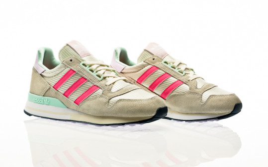 adidas Originals ZX 500 W cream white-solar pink-clear pink