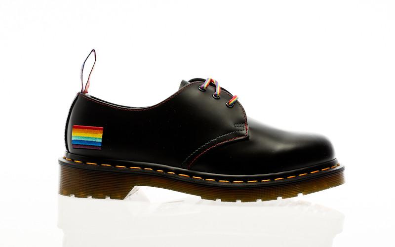 Dr. Martens 1461 Pride for pride black smooth