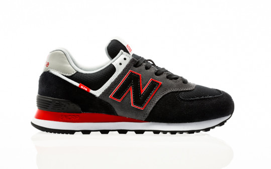 New Balance ML574 SM2 black-red