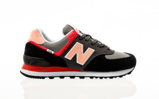 New Balance WL574 ST2 black-pink