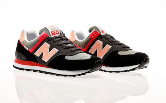 New Balance ML574 ST2 black-pink