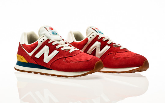 New Balance ML574 HA2 team red