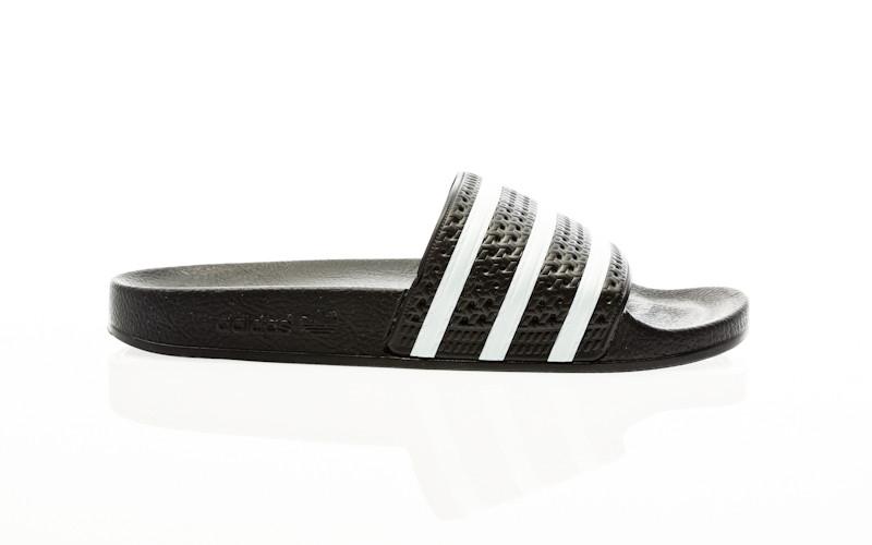 adidas Originals Adilette core black-white-core black