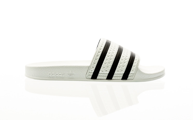 adidas Originals Adilette white-core black-white