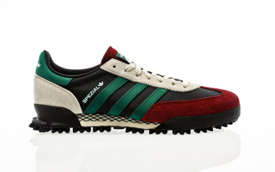 adidas Originals Handball Spezial TR core black-collegiate green-collegiate burgundy