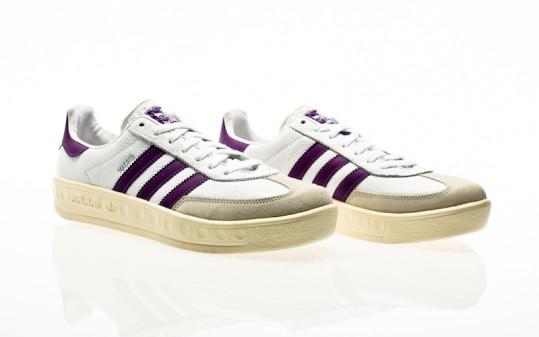 adidas Originals Madrid footwear white-shock purple-cream white