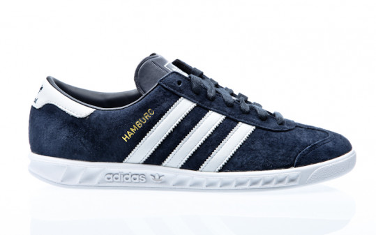 adidas Originals Hamburg collegiate navy-footwear white-gold metallic