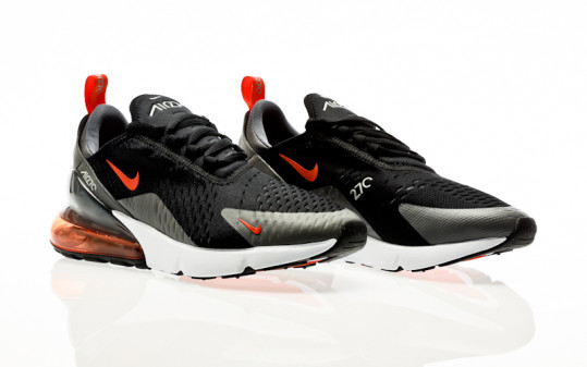 Nike Air Max 270 Essentiel black-team orange-iron grey-turf orange