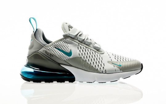 Nike Air Max 270 Essentiel pure platinum-aquamarine-lt smoke grey