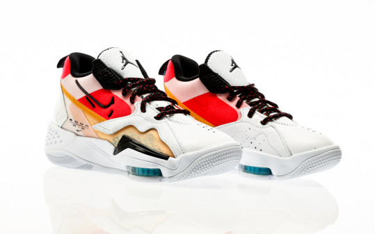 Nike W Jordan Zoom 92 white-black-siren red-university gold