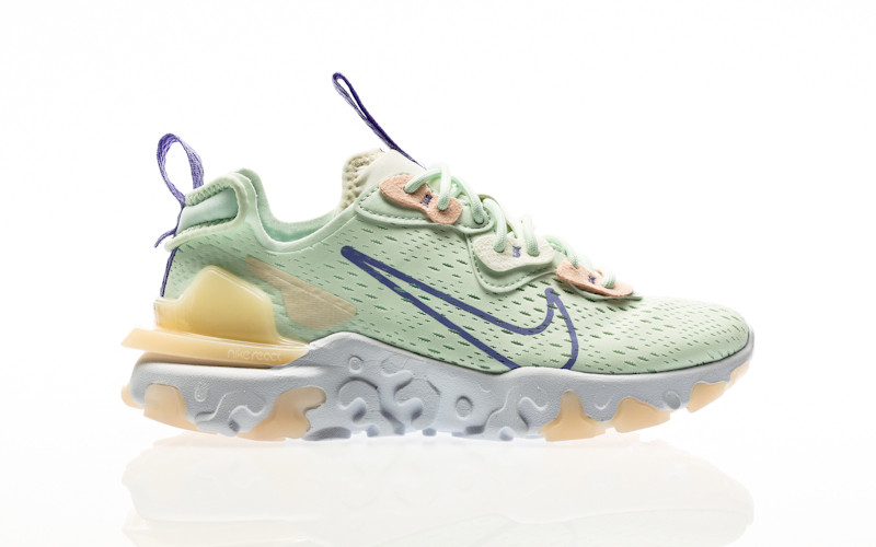 Nike W React Vision barely green-purple pulse-crimson tint