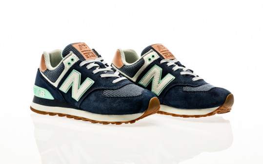 New Balance WL574 BCM navy