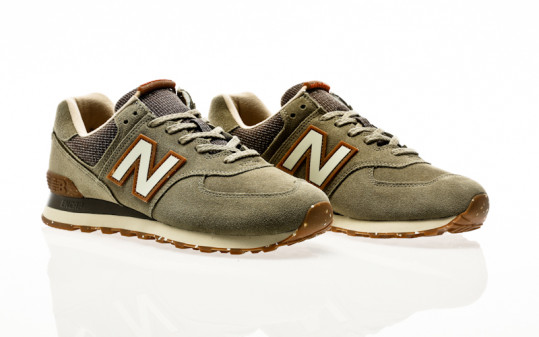 New Balance ML574 SOJ green