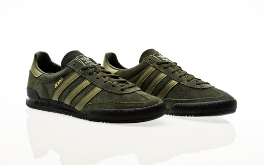 adidas Originals Jeans night cargo-olive cargo-core black