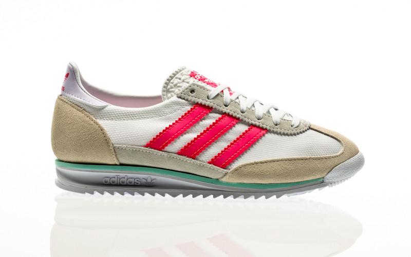 adidas Originals SL 72 W footwear white-solar pink-cream white