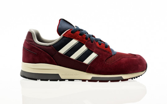 adidas Originals ZX 420 maroon-off white-collegiate navy