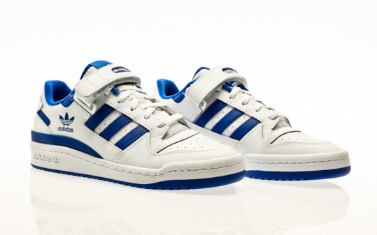 adidas originals Forum Low footwear white-footwear white-team royal blue