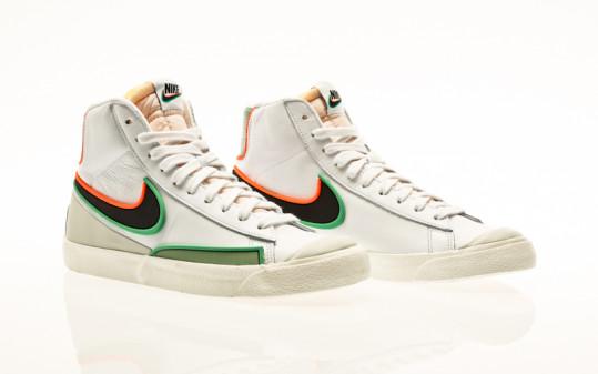 Nike Blazer Mid 77 Infinite white-black-jade smoke-roma green