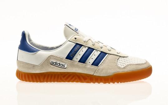 adidas Originals Indoor Comp footwear white-royal blue-chalk white
