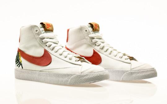 Nike Blazer Mid 77 SE white-light sienna-white