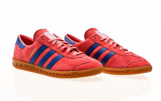 adidas Originals Hamburg rose tone-bold blue-gum