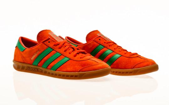 adidas Originals Hamburg team orange-team green-gum