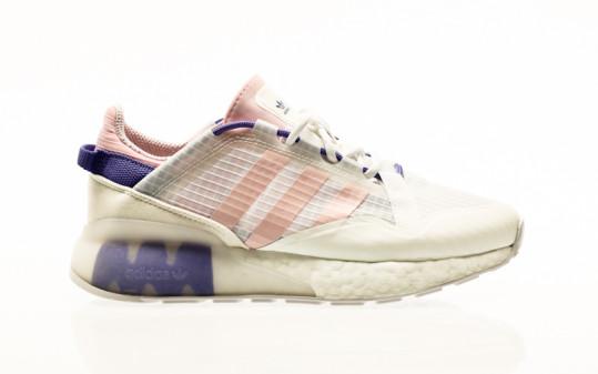 adidas Originals ZX 2K Boost Pure W footwear white-clear pink-purple