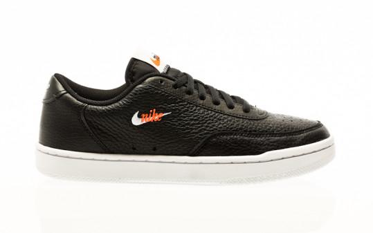 Nike Court Vintage Premium black-white-total orange
