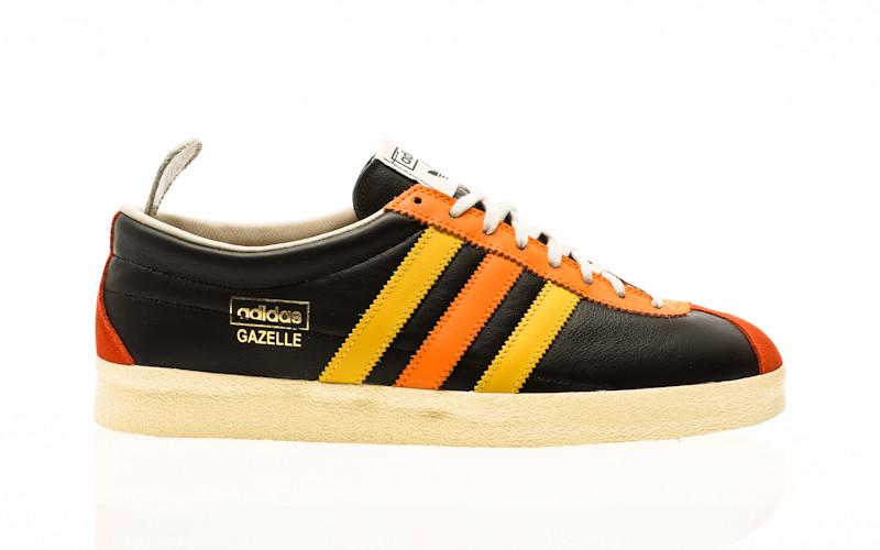 adidas Originals Gazelle Vintage core black-crew orange-hazy yellow