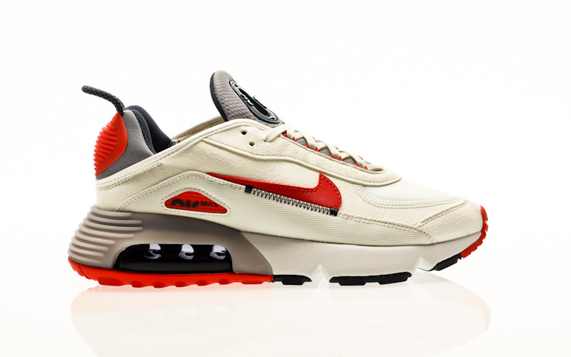 Nike Air Max 2090 summit white-chile red-cement grey