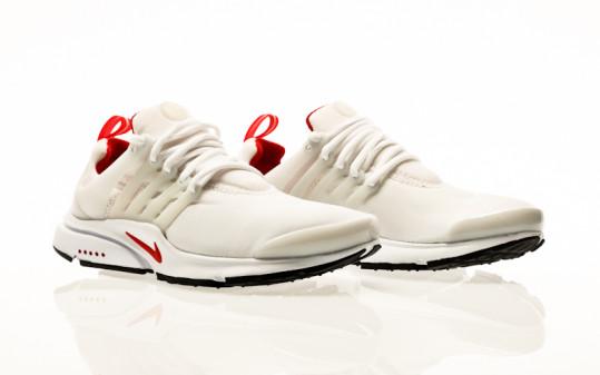 Nike Air Presto white-pure platinum-university red-black
