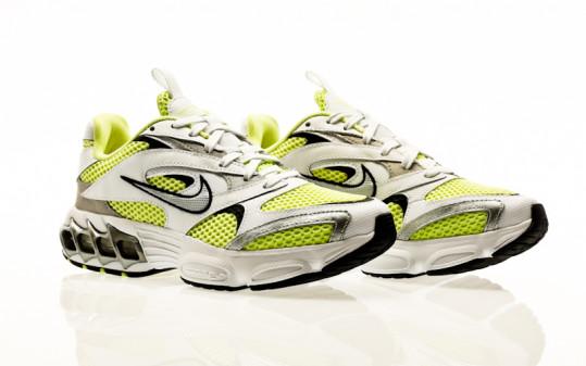Nike Zoom Air Fire white-metallic silver-light lemon twist